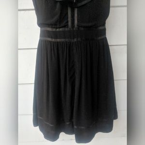 Anthropologie Dresses - Anthropologie Black Lexa Romper, Size 0